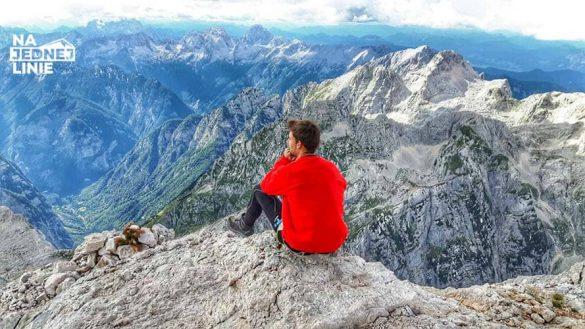 Triglav szczyt i przepiękna panorama na Alpy Julijskie