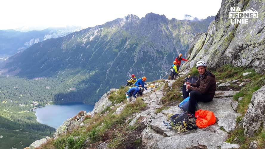 Drogą Klasyczną na Mnicha w Tatrach