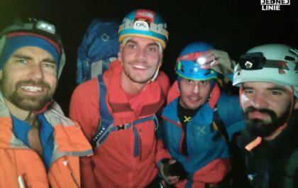 Kieżmarski szczyt w nocy
