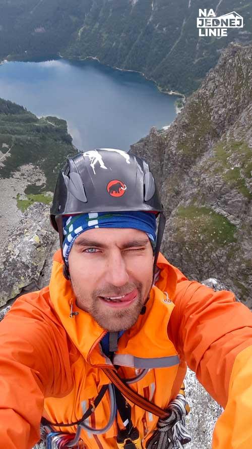 Na szczycie Mnicha w Tatrach