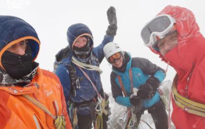 Świnica szczyt, wierzchołek Główny zimą