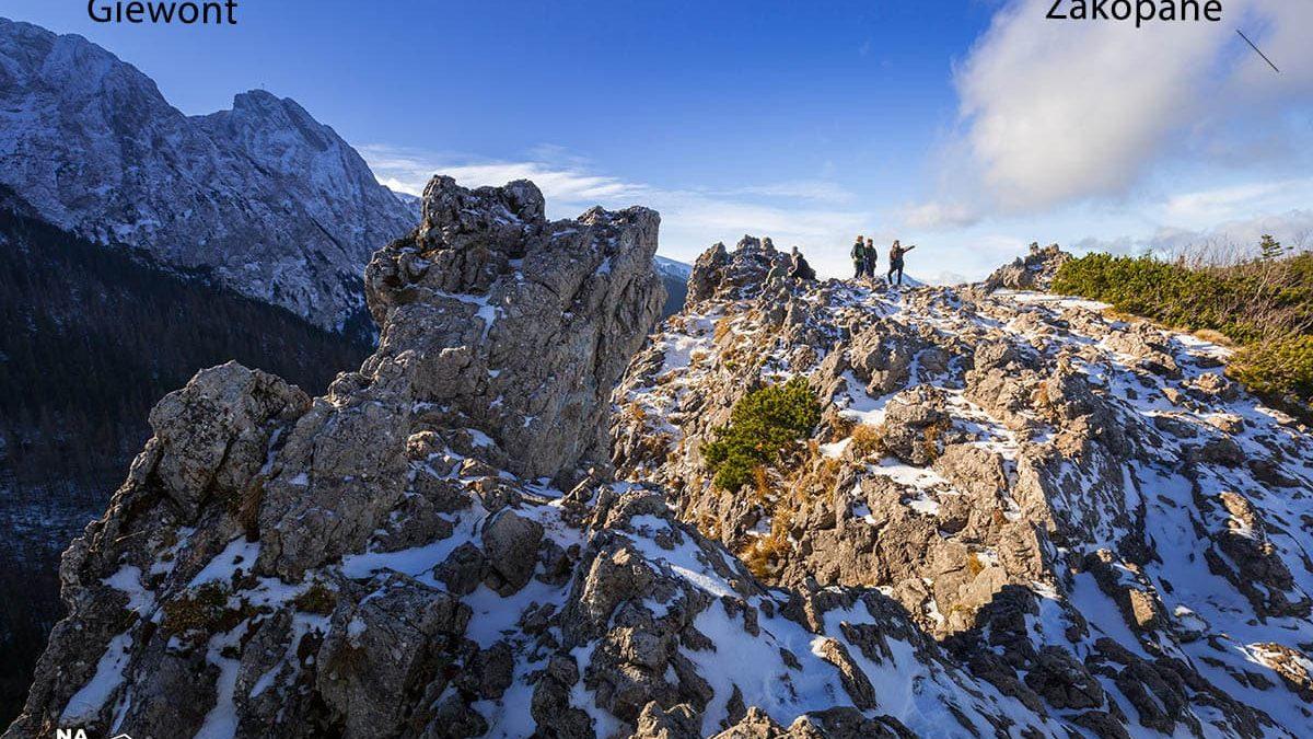 Wycieczka na Sarnią Skałę po Zakopiańską panoramę