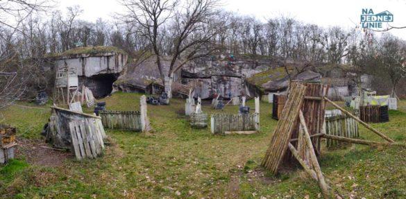 Bunkry w Janówku koło Warszawy. Idealne miejsce do uprawiania Drytoolingu