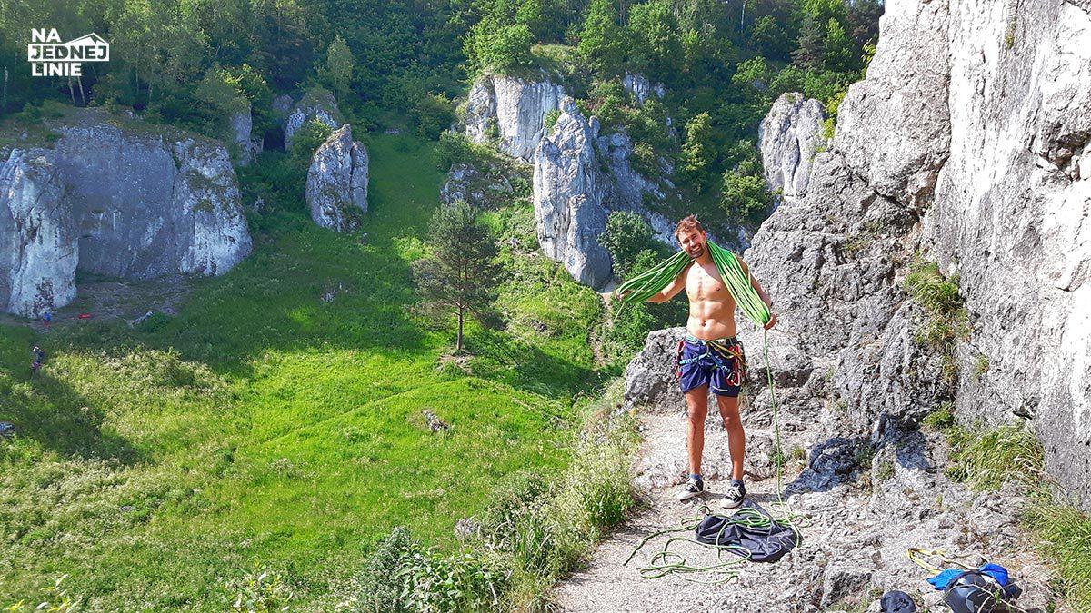 Dolina Kobylańska – wspinaczkowe Top 1 – tam aż chce się wracać na kolejne wyciągi!