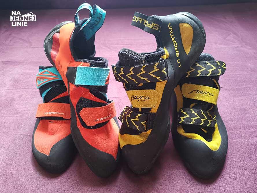 Jakie buty wspinaczkowe: Miura czy Katana? Trudny wybór dla wspinacza