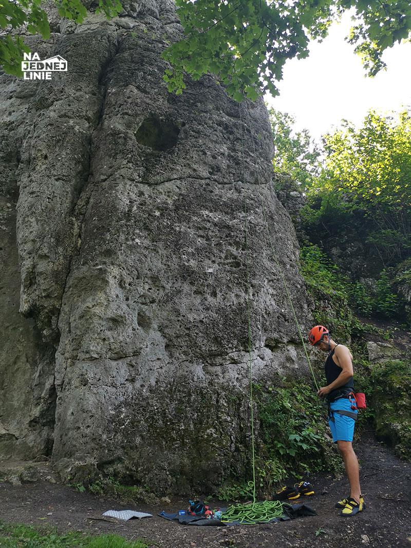 Turnia Kursantów w grupie skał Zegarowej