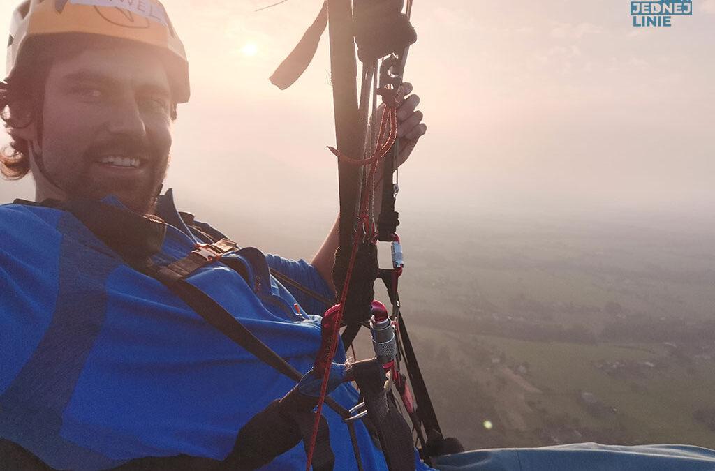 Paralotnią w piękny lot…nad górami pełnymi grot. Połknąłem bakcyla. Paralotniarstwo moją nową pasją!