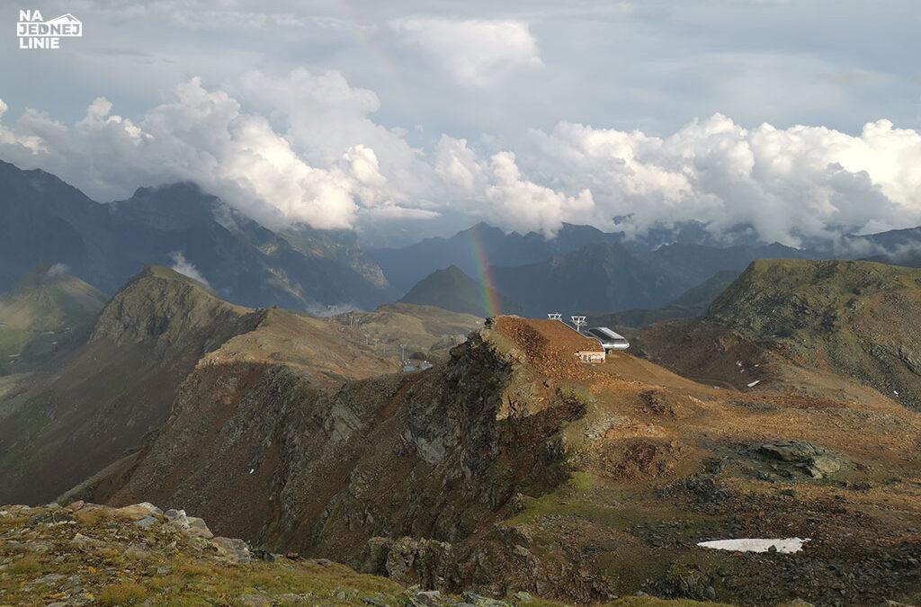 Coraz wyżej do schroniska Mantova. Alpy włoskie w pełnej krasie