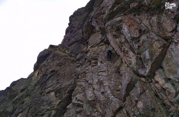 Droga wspinaczkowa Stanisławskiego na Kościelec w Tatrach