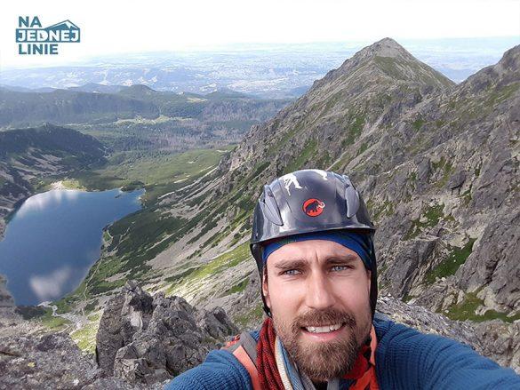 Filar Staszla Zadni Granat w Tatrach wspinaczka