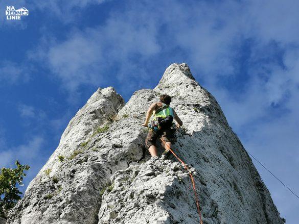 Wspinaczka w skale na Jurze Krakowsko-Częstochowskieh. Od czego zacząć wspinaczkę