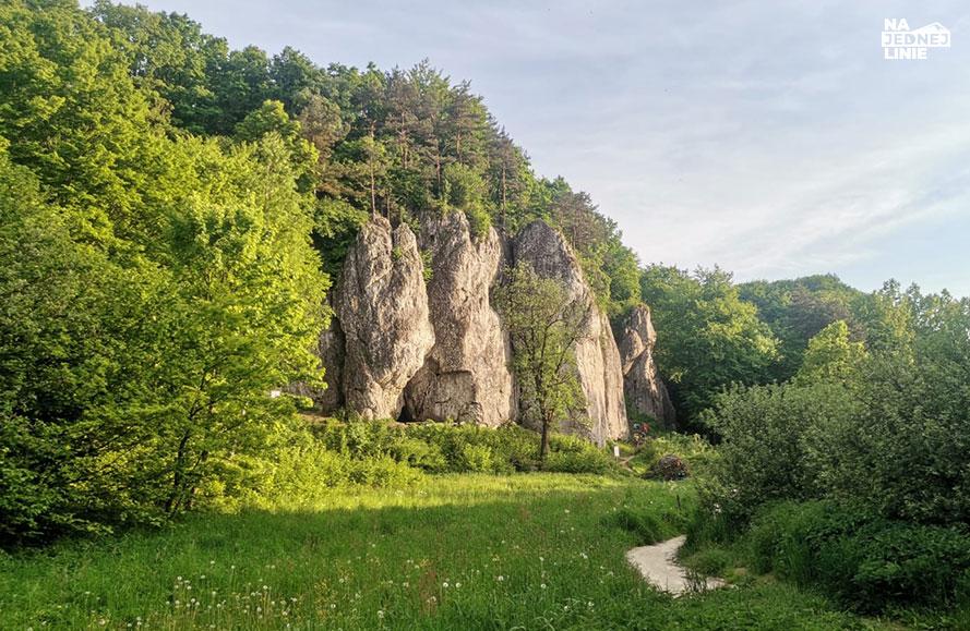 Łabajowa skała – królowa okapów
